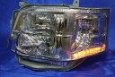 200系 ハイエース 3型 LED付き 電動 クリア キセノンタイプ ヘッドライト Ver,6YA