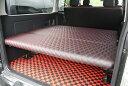 ハイエース 200系 ベッドキット 標準用 リクライニング ステッチ レッド Ver,1