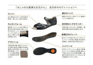 【アサヒシューズ直営店/ASAHISHOES】ひざのトラブルを予防するSHM機能つきアサヒメディカルウォークSLKV7802サンダルレディース(21.5〜25.0cm/3E)アサヒ靴【送料無料】