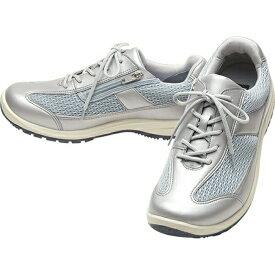 【在庫限り】ひざ 膝への底力 アサヒメディカルウォーク WK M002 KV30042 シルバー メンズ 紳士靴 メッシュスニーカー(24.0〜28.0cm/4E) アサヒ靴【40C】