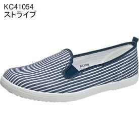 【Happy★Halloweenクーポン配布中!!】アサヒスニーカー L01K ストライプ KC4105 スニーカー レディース(22.0〜24.5cm/1E) アサヒ靴