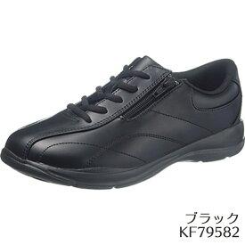 【30%OFFクーポン付】【Halloween30】アサヒ L511 ブラック KF7958 カジュアルアサヒシューズ レディース(22.0〜25.0cm/4E) アサヒ靴