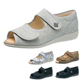 【即納】【あす楽】快歩主義 L133SL KS2348 サンダル レディース 婦人靴 (21.5〜25.0cm/3E) 靴 アサヒシューズ