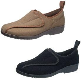 【衣替え応援★15%OFFクーポン配布中!!】シニア コンフォートシューズ 幅広の足にもやさしいアサヒシューズ 快歩主義 L148 KS2367 レディース 婦人靴 (22.0〜26.0cm/4E) アサヒ靴 ASAHI