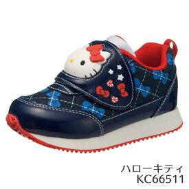 【即納】【あす楽】【在庫限り】サンリオキャラクター P071 ハローキティ KC6651 トドラー・ジュニア(15.0〜19.0cm/2E) 靴 アサヒシューズ