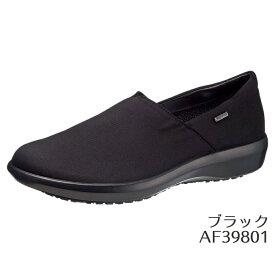 【即納】トップドライ TDY39-80 ブラック AF39801 レインブーツ レディース 婦人靴 (22.0〜25.0cm/3E) アサヒ靴 防水・高い透湿性 カッティングデザイン スリッポンシューズ ショップチャンネル