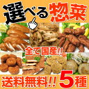選べる惣菜5種(送料無料)