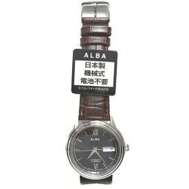 [アルバ]ALBA 腕時計 メカニカル 自動巻 ハードレックス 5気圧防水 AQHA018