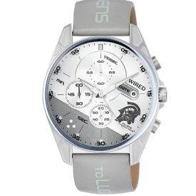 腕時計 ワイアード コジマプロダクション wena 限定500本 ルーデンスモチーフ AGAT730 メンズ グレー