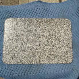 ペストリーボード 松山石 のし板 60×40×2cm カドR加工 R面取り のし台 こね台 みかげ石 石板 平板 麺打ち パンこね クッキングボード 送料込み!