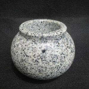 墓 湯呑み 水鉢 茶碗 コップ(みずばち) 御影石だから倒れない 割れない ご先祖様に高級水鉢でお水を!送料無料