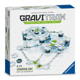 GRAVITRAX(グラビ トラックス)スターターセット物理法則を楽しく学べるSTEM教育の立体パズル18種類124個のパーツを組み合わせた独自コースでボールをゴールへ導く