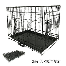 ペットケージ ペットサークル XXLサイズ 犬小屋 扉付き 折りたたみ ペット 中・大型犬用 ゲージ イヌ いぬ 室内 屋内