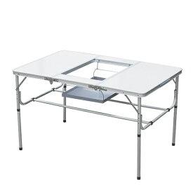 バーベキューテーブル アルミ製 BBQテーブル キャンプテーブル ピクニックテーブル