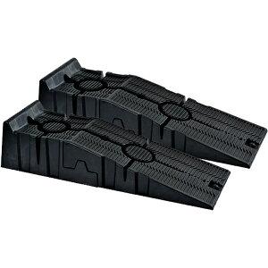 カースロープ 2個セット エアロ装着車 軽量 コンパクト 整備用スロープ ジャッキサポート 補助工具 タイヤ交換