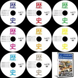 中学受験社会歴史DVD全8枚