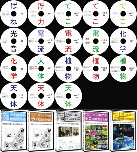 中学受験理科完全攻略DVD全18枚