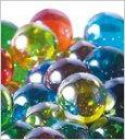 ガラスのビー玉 オーロラカラーマーブル Mix  17mm*200個入りGlass Marble、びーだま、ガラス玉、aurora ミックス、…