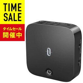 【光デジタル端子】TaoTronics Bluetooth トランスミッター レシーバー aptx-LL 低延遅 Bluetooth 5.0 受信機 送信機 15時間再生 2台同時接続 充電しながら使用可 一台二役 小型 sl01