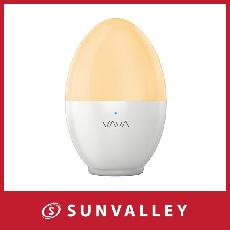 LED ナイトライト VAVA インテリアライト 色温度・明るさ調整可能 USB充電 タッチ式 子供安全素材 授乳用 寝室用 防水防災 携帯便利 80時間連続稼働