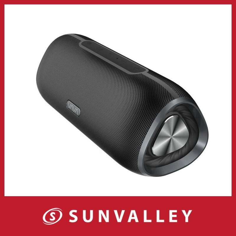 VAVA Bluetooth スピーカー 24時間連続再生 IPX5 防水 アウトドア ワイヤレススピーカー 2個5W 大音量 低音強化 内蔵マイク搭載 USB 充電 VOOM24