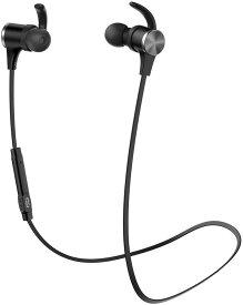 【進化版 apt-X HD cVc8.0 18時間連続再生】TaoTronics Bluetooth イヤホン(IPX6防水仕樣 Bluetooth5.0)ノイズキャンセリング 自動ペアリング 高音質 マグネット搭載 スポーツ仕様 TAOTRONICS SoundElite 71