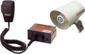 【いまだけポイント10倍】拡声器 車載用 マイク放送アンプ スピーカー 12V車用 ノボル電機 D19A2