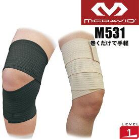 マクダビッド 膝・ももサポーター テーピングサポーター L M531