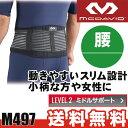 【あす楽】 マクダビッド 腰サポーター スリム・バックサポート M497 【送料無料】 【smtb-ms】