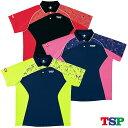 【送料無料】 TSP オルビットシャツ 031413 卓球ゲームシャツ ユニホーム 男女兼用 (SS〜XXO) 卓球用品 ヤマト卓球