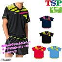 TSP ジョワイユシャツ 卓球ユニフォーム ゲームシャツ 男女兼用 ジュニア対応 031427