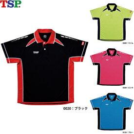TSP 卓球ユニフォーム オルディナートシャツ 031422 男女兼用 卓球ゲームシャツ ユニフォーム 卓球ウエア (SS〜XXO)