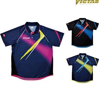 vikutasu(VICTAS)V-SW035 031458乒乓球游戏衬衫制服男女兼用乒乓球服装