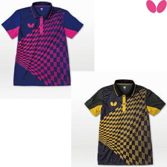 蝴蝶(BUTTERFLY)jienetura·衬衫45160乒乓球服装游戏衬衫男女兼用制服