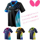 バタフライ BUTTERFLY パトナール・シャツ 卓球 ユニフォーム ゲームシャツ 45460