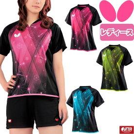 バタフライ BUTTERFLY エルフィル・シャツ 卓球 ユニフォーム ゲームシャツ レディース 45649