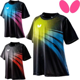 バタフライ BUTTERFLY フリプル・Tシャツ 卓球 Tシャツ 45660