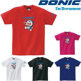 ドニック DONIC I'm DORAEMON ドラえもん コットン 卓球 Tシャツ B YL115