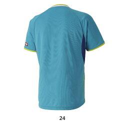卓球ユニフォーム24:ピーコックブルー