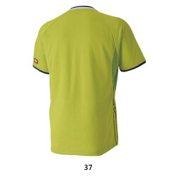 卓球ユニフォーム37:ライムグリーン