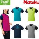 ニッタク 卓球Tシャツ VネックTシャツ4 (J130/J150/3S/SS/S/M/L/O/XO) NX-2090