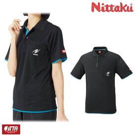 ニッタク Nittaku レイヤーシャツ NW-2172 卓球 ユニフォーム 男女兼用 ゲームシャツ 卓球用品