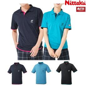 ニッタク Nittaku 卓球ユニフォーム レイヤーシャツ NW-2172 男女兼用 ゲームシャツ 卓球用品