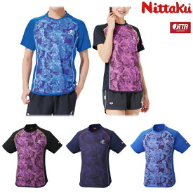 【数量限定セール】ニッタク Nittaku 卓球ユニフォーム フラージュシャツ メンズ レディース NW-2187