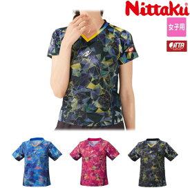 ニッタク Nittaku 卓球ユニフォーム ムーブステンドレディースシャツ レディース NW-2192