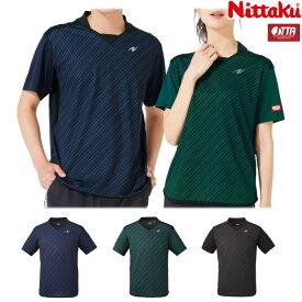 ニッタク Nittaku 卓球ユニフォーム スライプシャツ メンズ レディース NW-2198