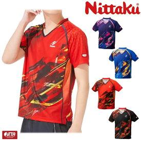 ニッタク Nittaku 卓球ユニフォーム スカイトップシャツ メンズ レディース ジュニア対応 NW-2202