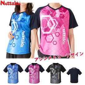 ニッタク Nittaku 卓球Tシャツ サンサンTシャツ 男女兼用 メンズ レディース NX-2092