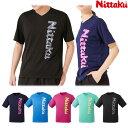 ニッタク Nittaku 卓球Tシャツ ビーロゴTシャツ 2 メンズ レディース キッズ ジュニアサイズ対応 NX-2097