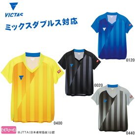 VICTAS V-LS054 レディースゲームシャツ 031468 卓球ユニフォーム ヴィクタス